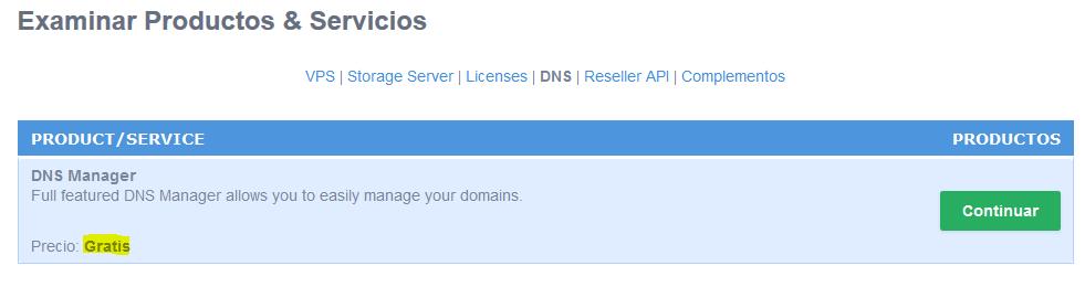 Como configurar los registros DNS
