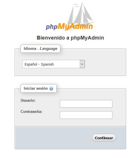 Como instalar phpmyadmin