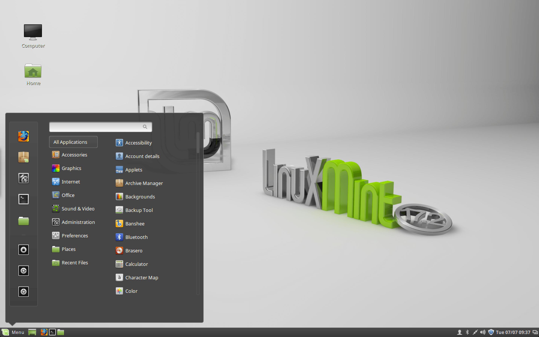 linux mint rafaela