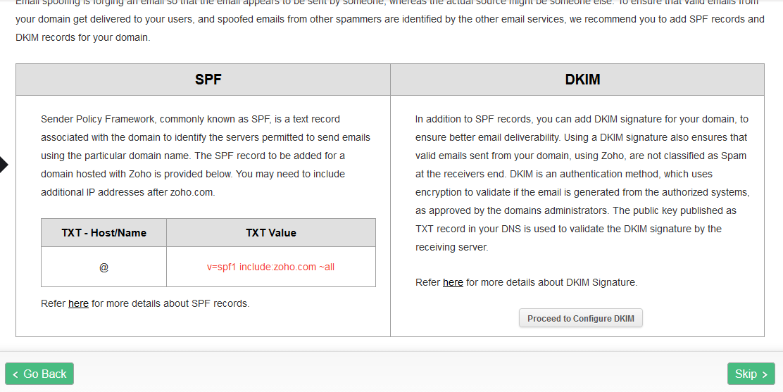 SPF y DKIM