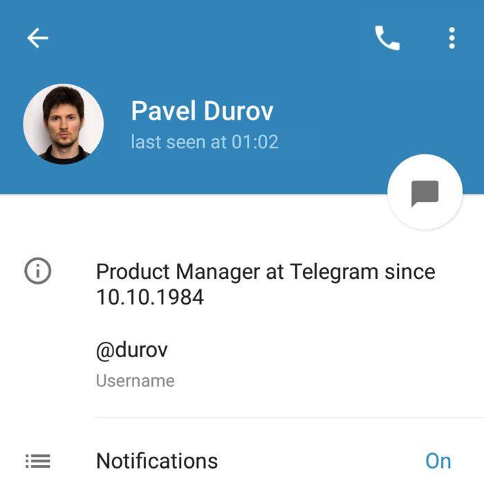 Bio Durov