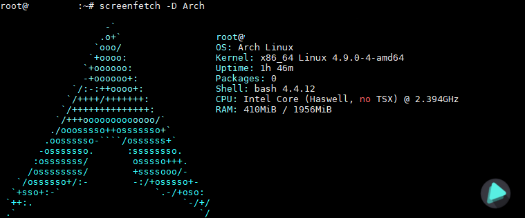 screenfetch-arch