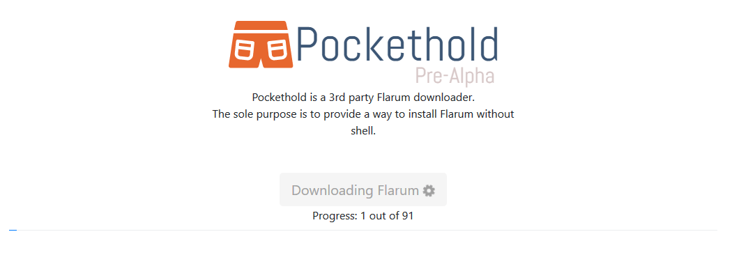 pockethold-progress