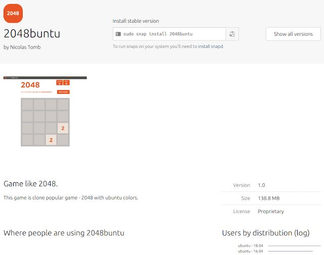 2048buntu-juego-ubuntu-snap-store