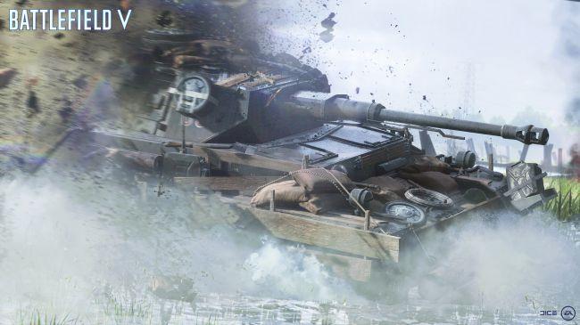 Battlefield V tanque