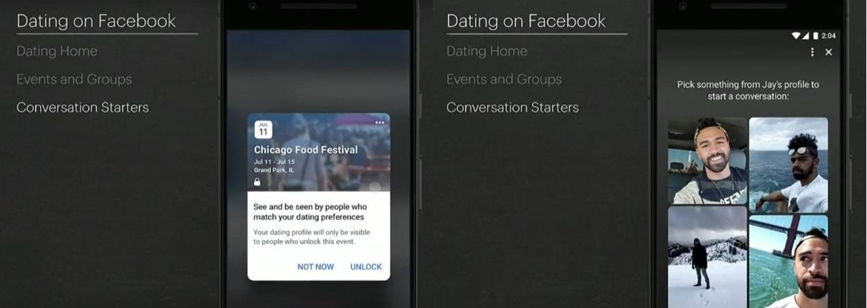 F8 Dating Events