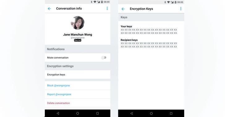 claves encriptacion twitter