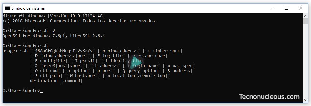 cmd-openssh
