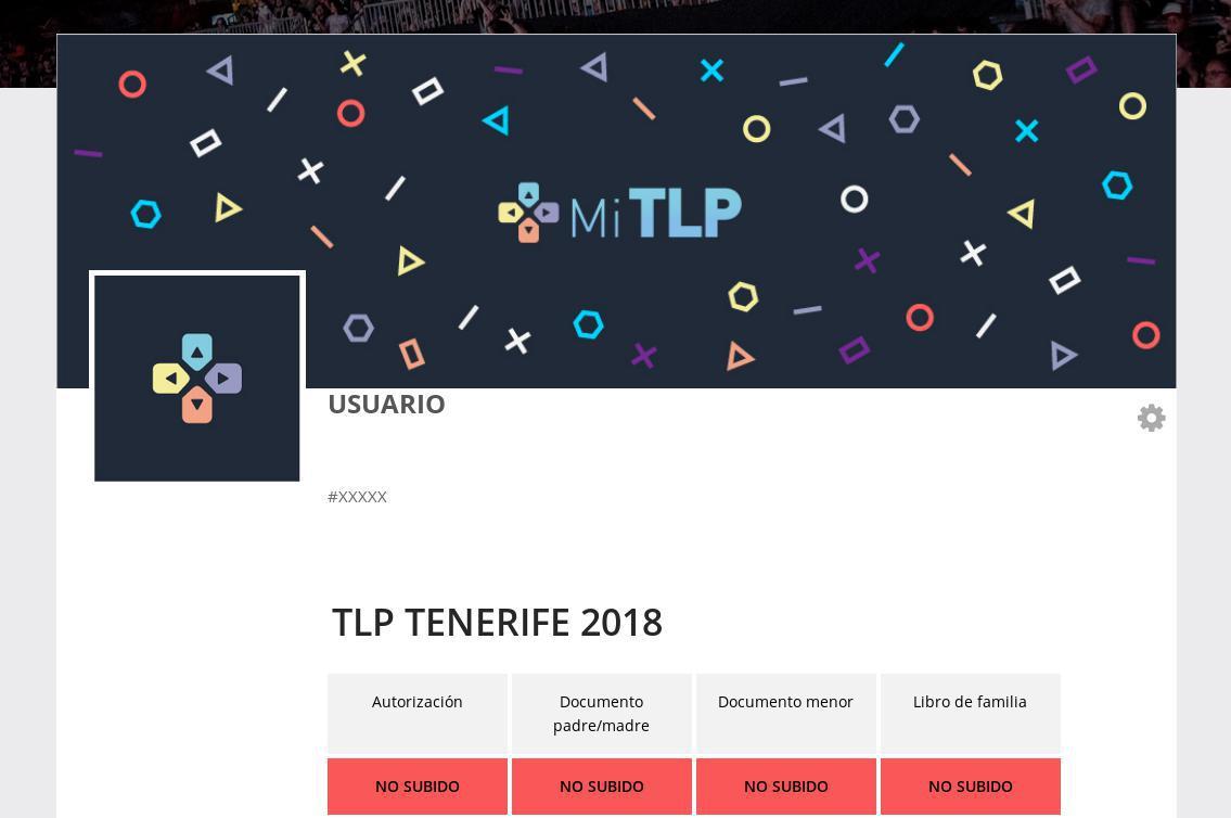 Ejemplo de perfil de usuario de la TLP