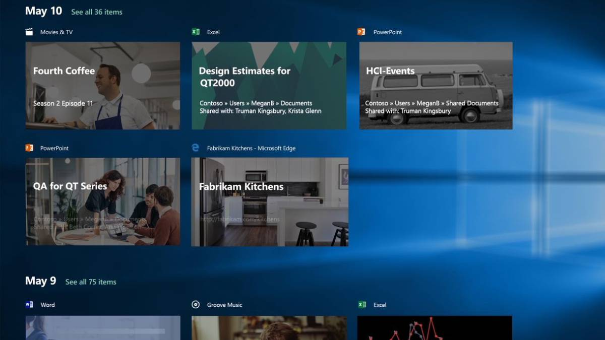 timeline-windows10