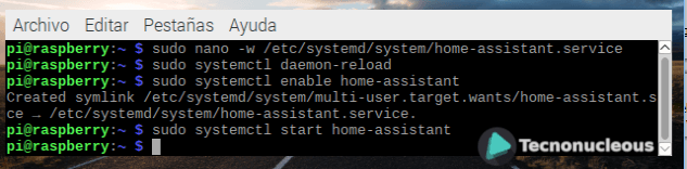 activacion-servicio-home-assistant