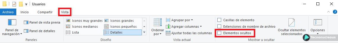 elementos-ocultos-Windows-10