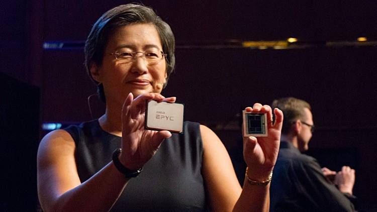 AMD Acciones Ryzen y Epyc
