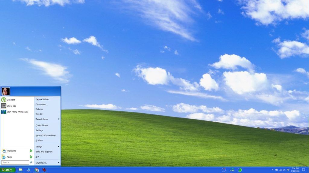 ¿Cómo ponerle la apariencia de Windows XP a Windows 10?