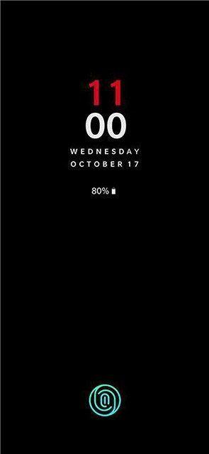 Pantalla bloqueo OnePlus 6T