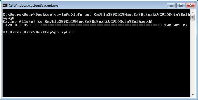 Acceder a un archivo en IPFS