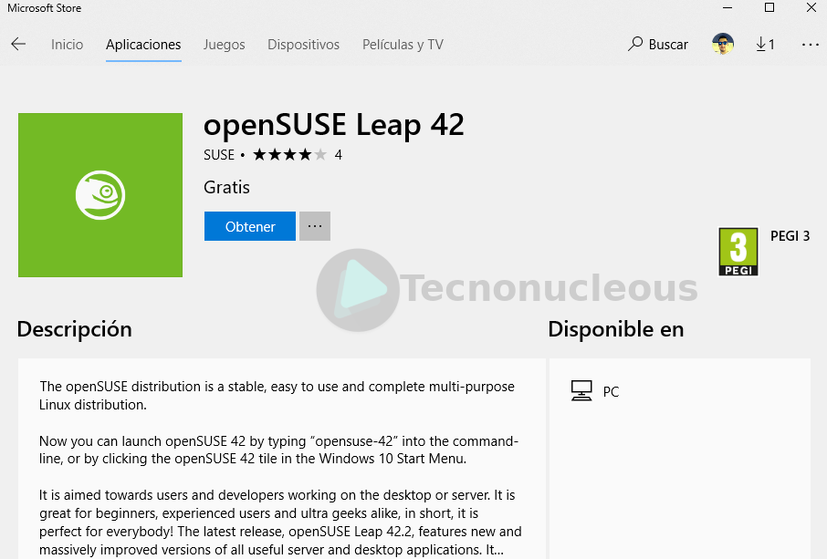 ¿Comó instalar OpenSuse o Suse Linux Enterprise Server en Windows 10?