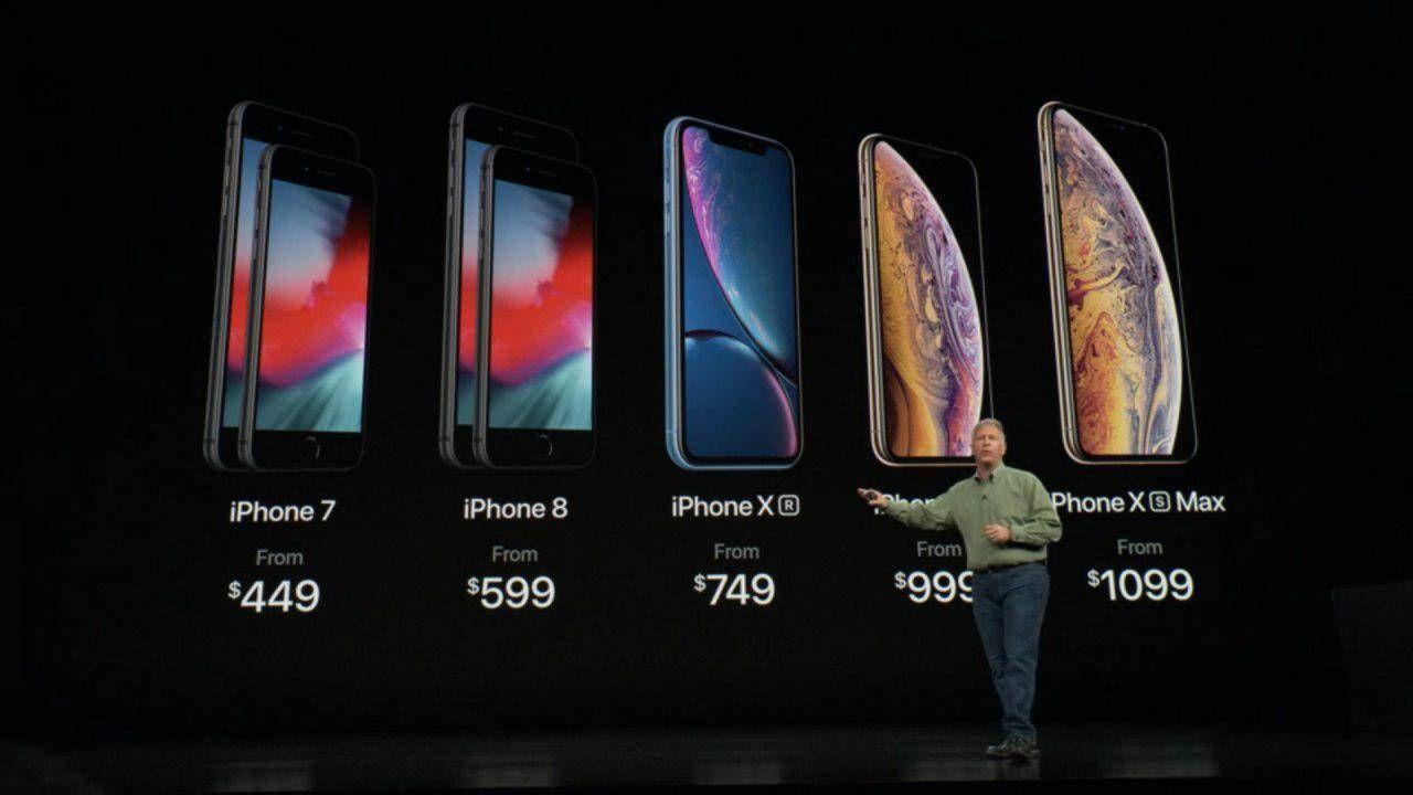 Precios iPhone XS y XS Max