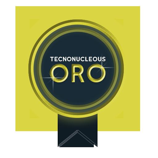 Medalla de ORO Tecnonucleous
