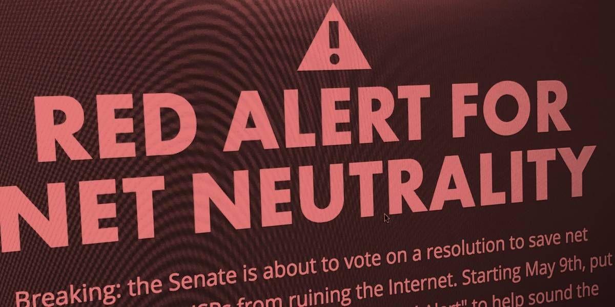 La ley de neutralidad de la red de California ha sido suspendida