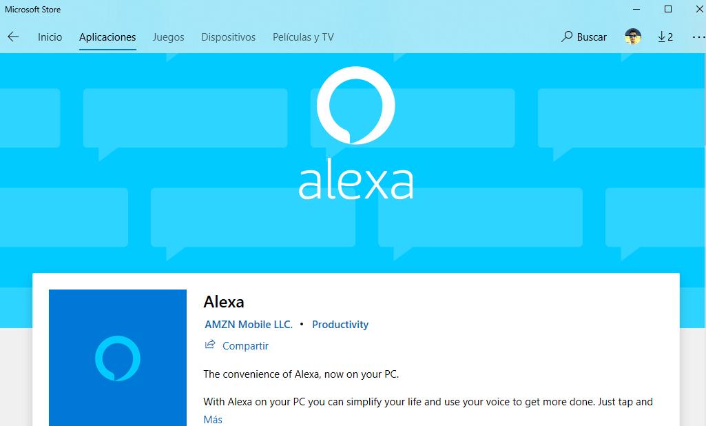 Amazon finalmente lanza Alexa en Windows 10