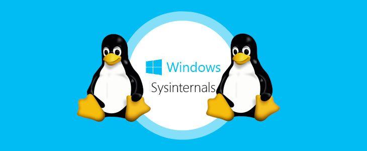 Microsoft trabaja en portar Sysinternals a Linux