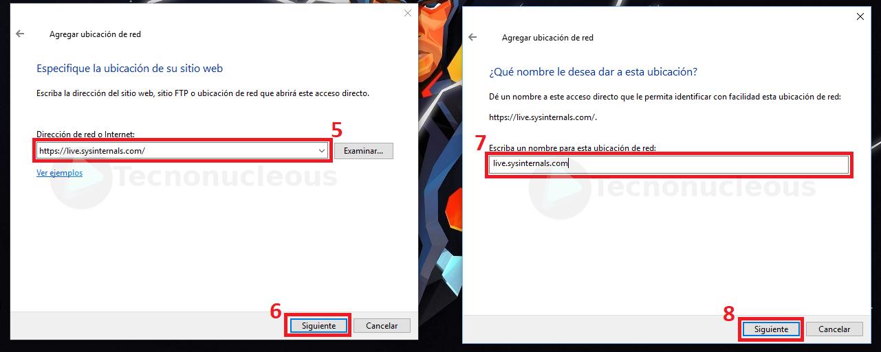 Agregar Ubicacion de red Windows10 Paso 2
