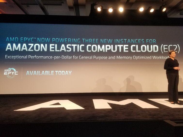 Amazon Web Service anuncia las instancias EC2 M5a y R5a impulsadas por procesadores EPYC de AMD
