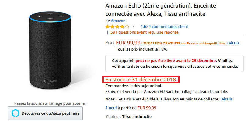 amazon-echo-sin-stock-francia