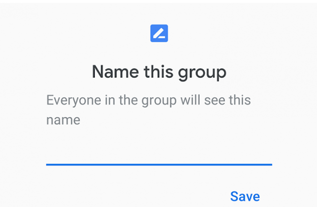 Crear un grupo en Google Duo