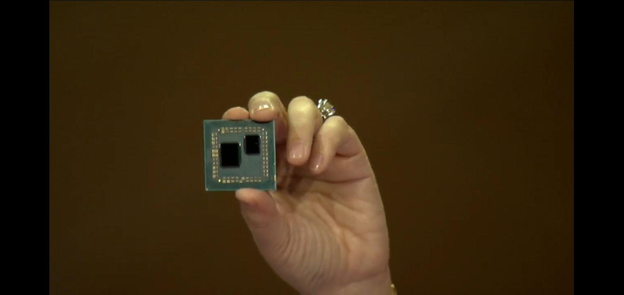 Foto chip Ryzen 3º generación