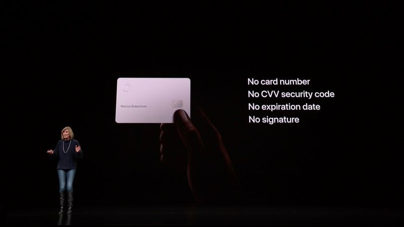Apple Card caracteristicas