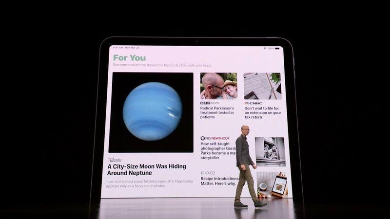 Apple News Plus aplicación