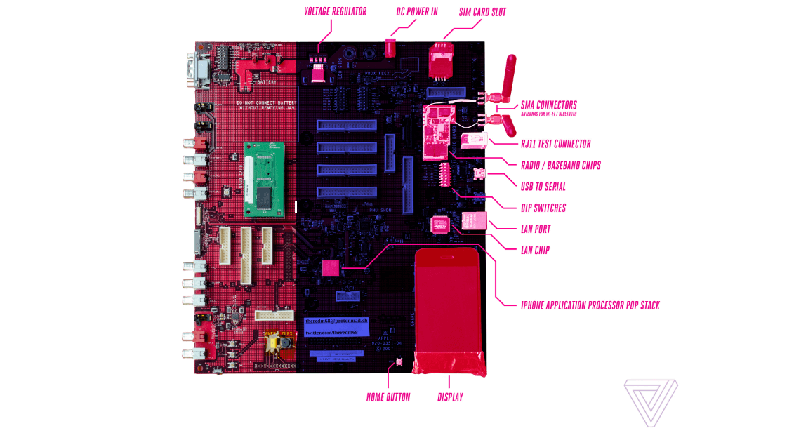 Diagrama Placa primer iPhone