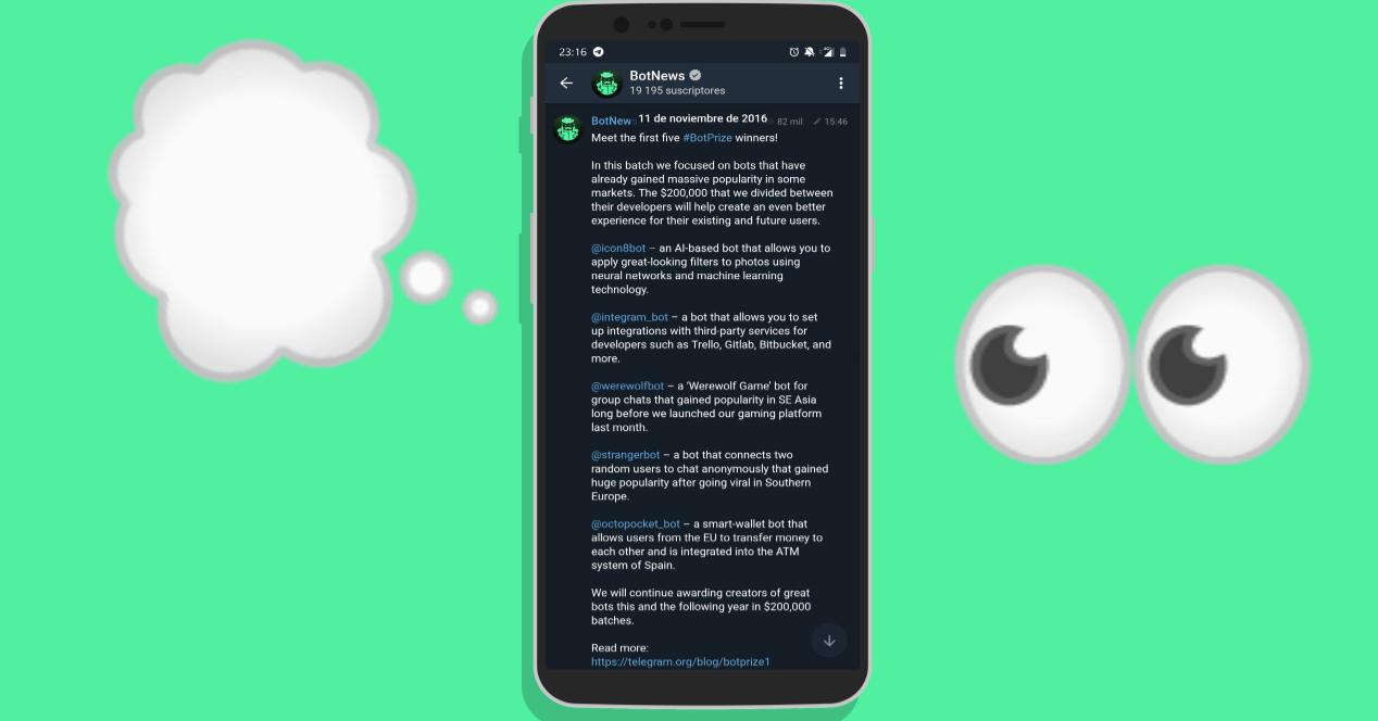 Resultados BotPrize Telegram 2016