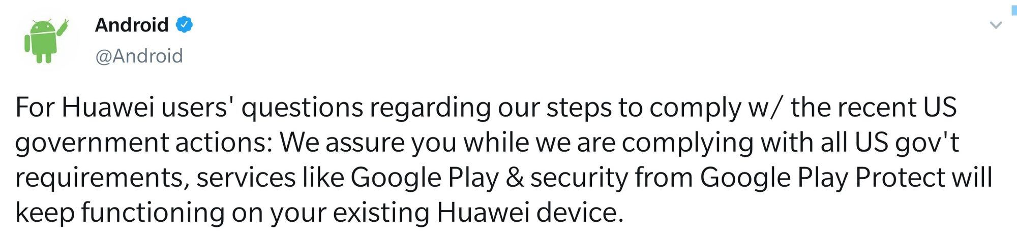 Respuesta Android bloqueo Huawei