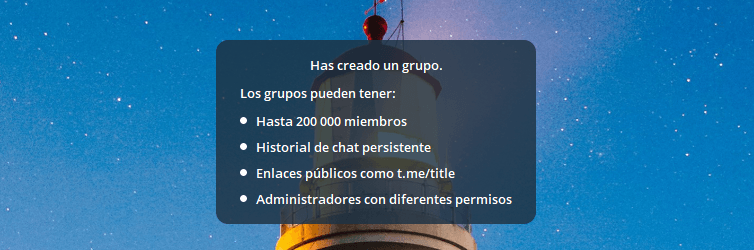 Supergrupos 200000 miembros Telegram