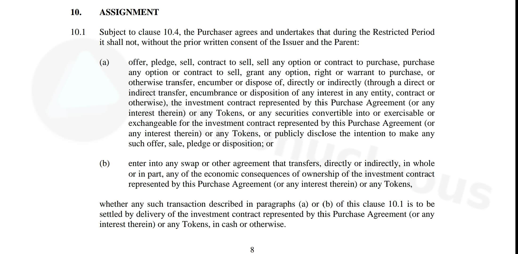 Acuerdo inversionistas de Gram