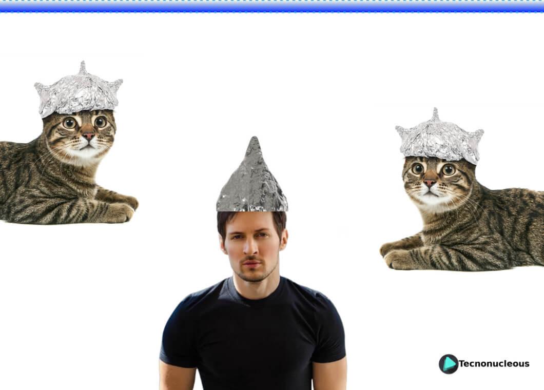 Gorrito plata Durov Telegram