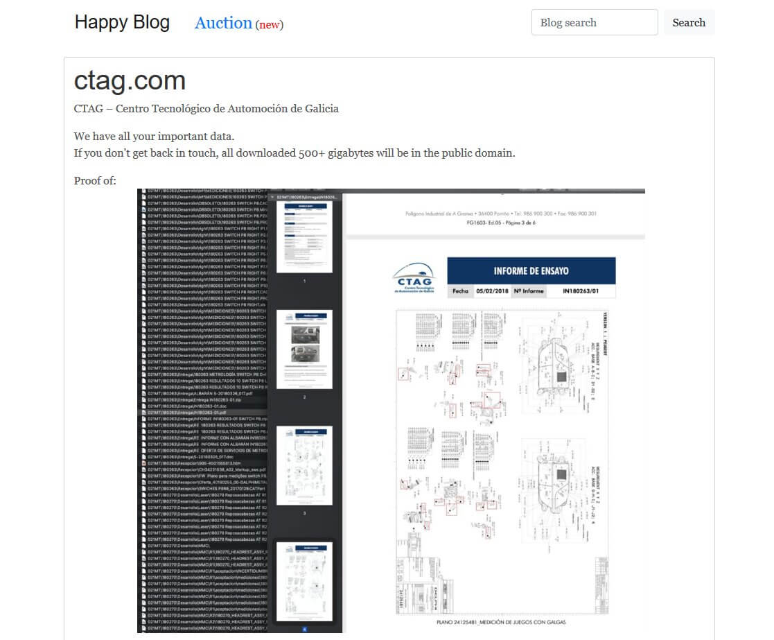Happy Blog CTAG