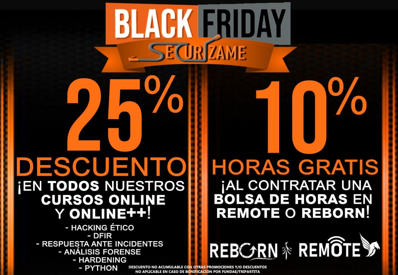 Securizame Black Friday 2020