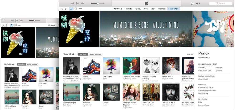 iTunes se actualiza llegando a la versión 12.3.3 y ofreciendo soporte al nuevo iPhone y iPad