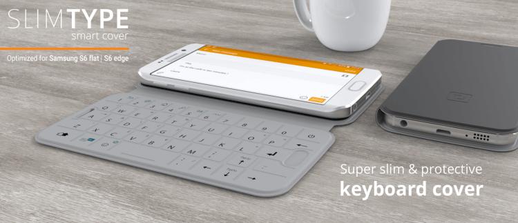 La funda con teclado SlimType es la envidia y sueño de cualquier funda