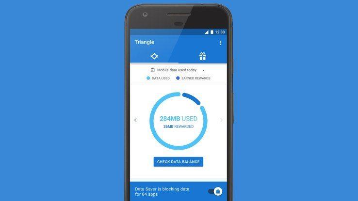 Prueba Triangle la nueva app de Google para ahorrar datos