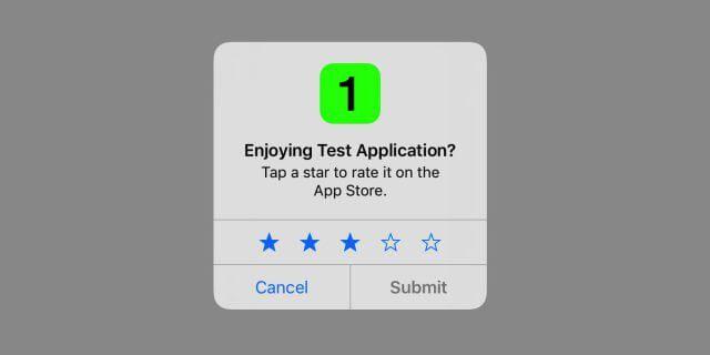 Apple obliga a que usen su api para pedir valoraciones en las apps