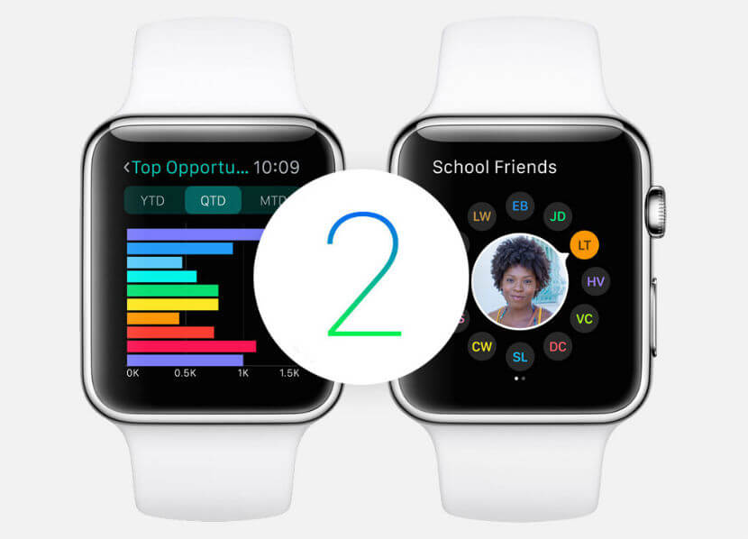 watchOS 2.2 ya está disponible en su versión final