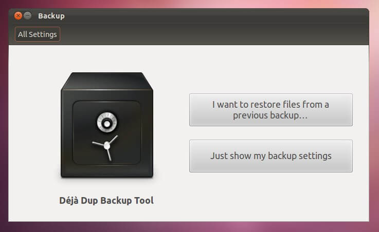 Hacer copias de seguridad cifradas en GNU/Linux con Déjà Dup