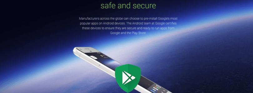 Google ahora bloquea las GApps en dispositivos no certificados, pero permite que los usuarios de ROMs personalizadas que se incluyan en la lista blanca