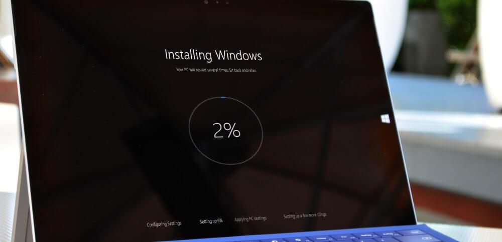 Microsoft dice que la actualización de Windows 10 Spring Creators se instalará en 30 minutos
