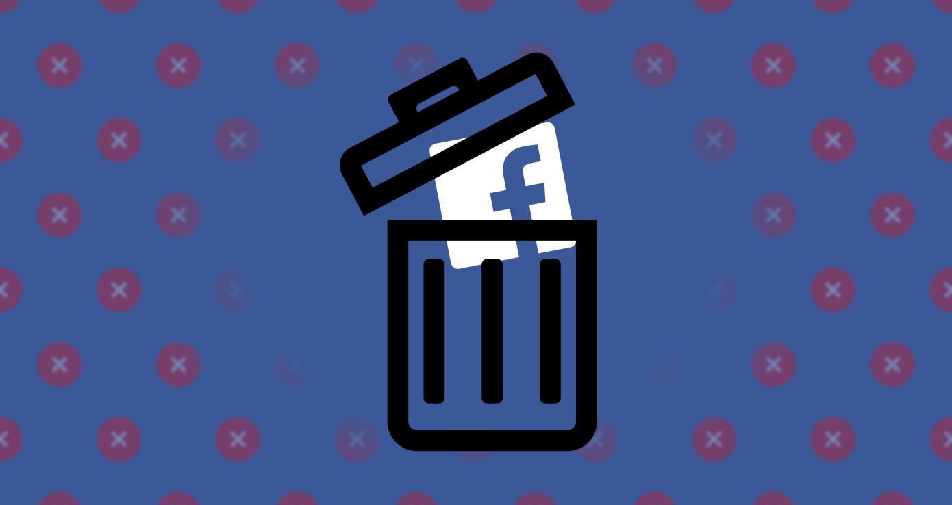 Cómo eliminar tu cuenta de Facebook #DeleteFacebook